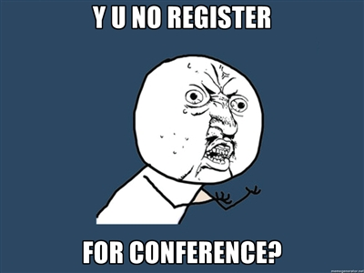 Y U No Register for Organizing New York