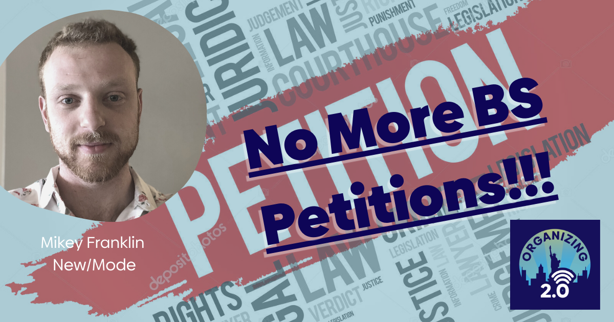 Online Petitions that Aren't BS